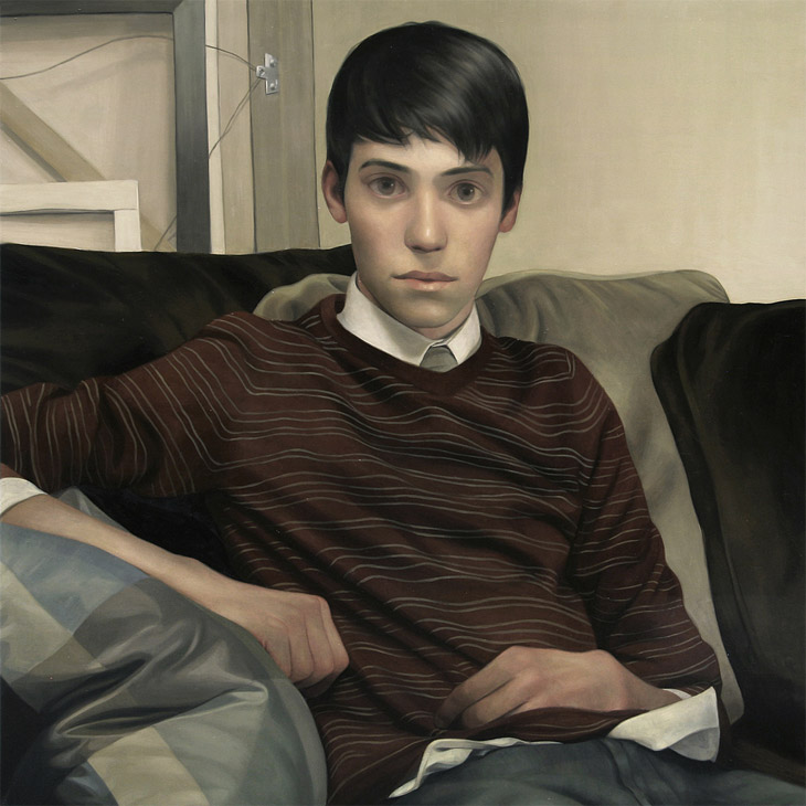 Timmy - Oil on panel by Lucong