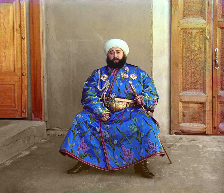 Mohammed Alim Khan, Emir of Bukhara - 1911