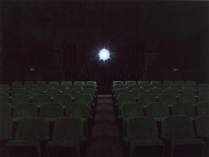 Shine for us, acrylics on canvas 200x 150 cm