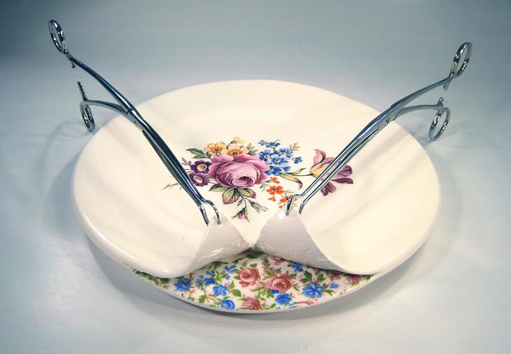 Mixed media ceramics by Beccy Ridsdel