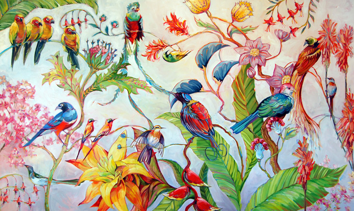 Birds of Paradise - Ashley Cecil 2009