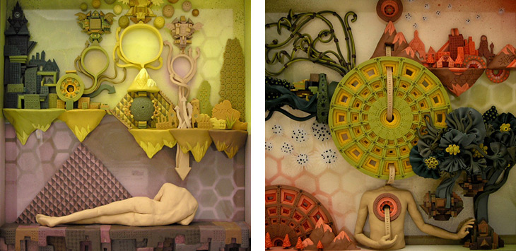 Clay art by Meredith Dittmar