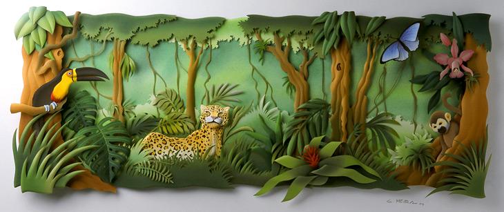 Carlos Meira's paper sculptures | LivingDesign.info
