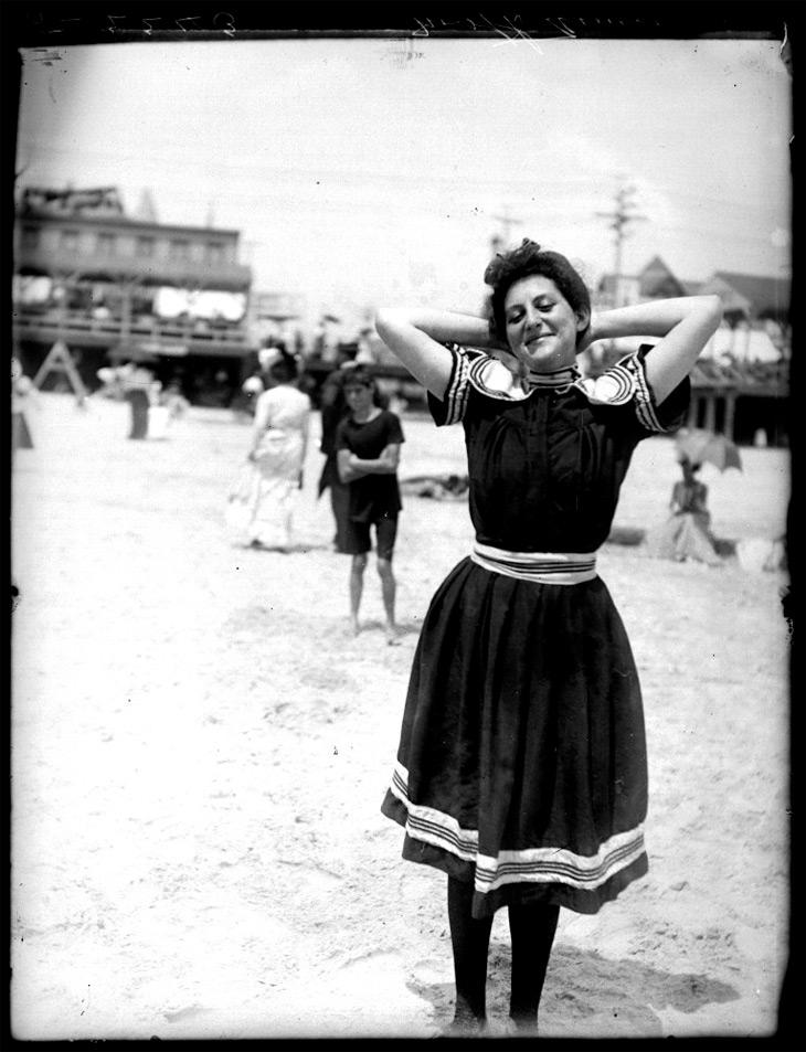 Atlantic City Beach 1905