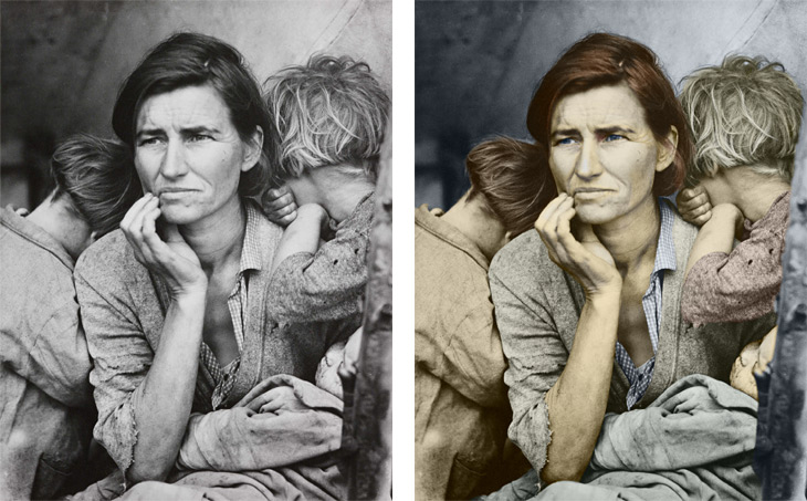 Colorized in Recolored