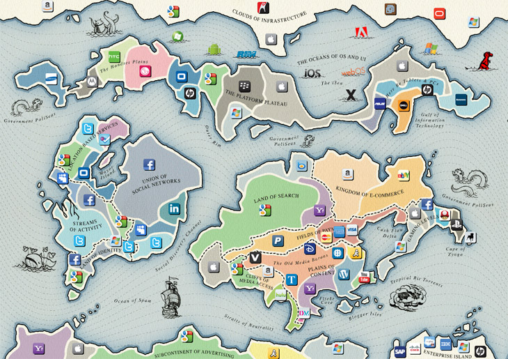 Points of Control Interactive Map