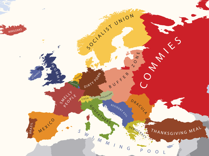 Europe According to USA