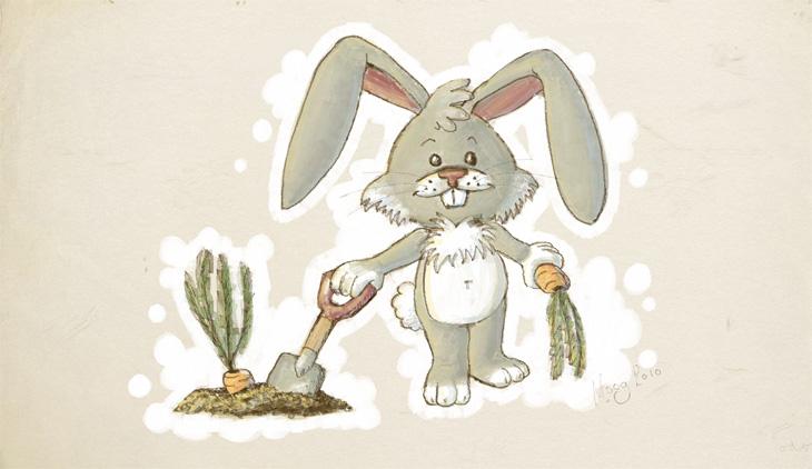 Odosketch - Gardening Time by moogleymog