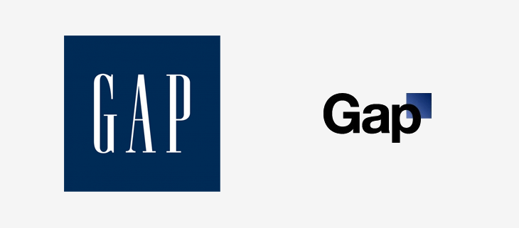 Gap logo redesign