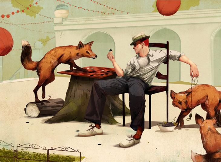 The fox trap