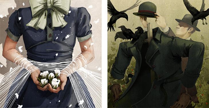 Tension (left) - Scare tactics (right)
